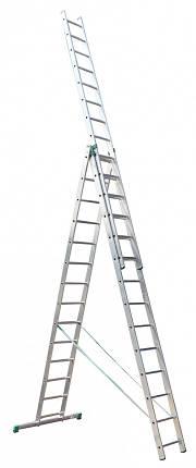 Универсальная лестница ITOSS 7614 (3х14), фото 2