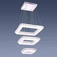 Светодиодная хрустальная люстра Starlight 3 Square