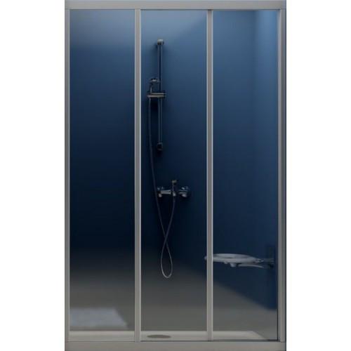 Душевая дверь Ravak ASDP3-90 (Grape) Satin 00V70U02ZG