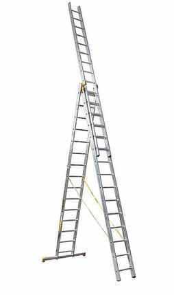 Универсальная лестница ITOSS 8615 (3х15), фото 2