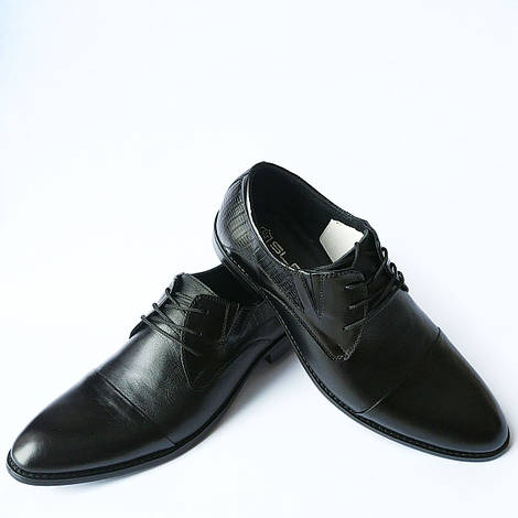 Slat мужская обувь : классические, кожаные, черные туфли