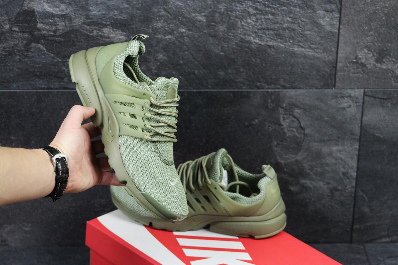 Кроссовки мужские Nike Air Presto зеленые ( Реплика ААА+) - bonny-style в d92886b5bf736