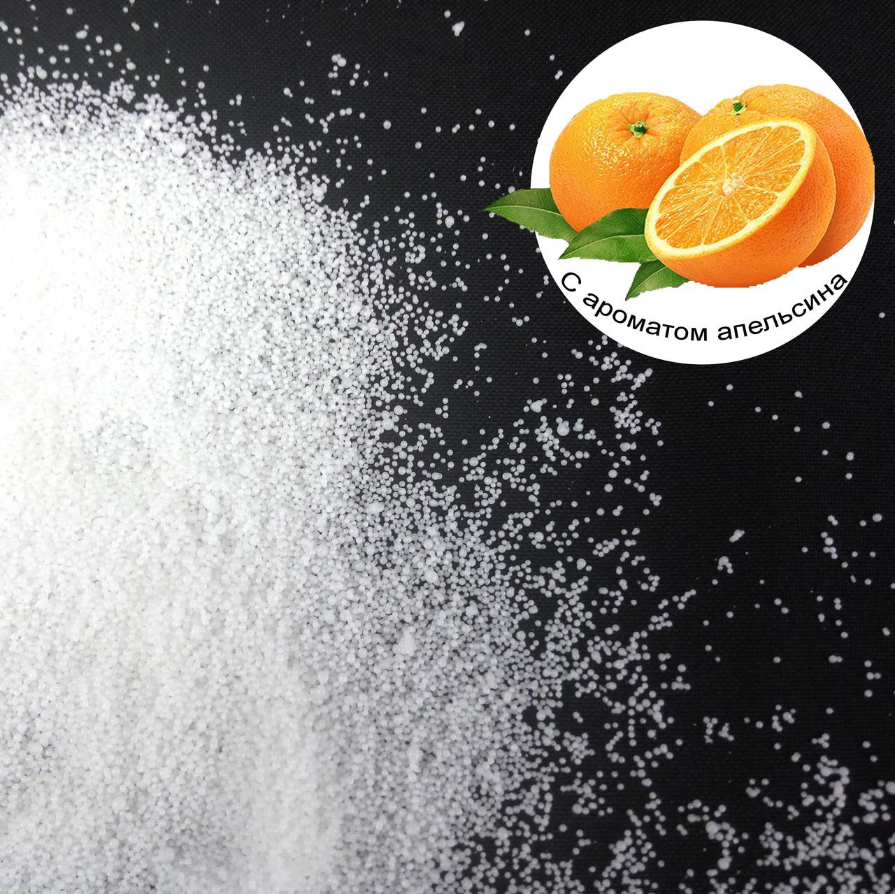 Ароматизированные насыпные свечи с запахом апельсина 1 кг + 1 м фитиля