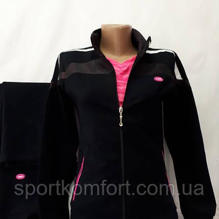Женский спортивный трикотажный костюм, Турция, Линке, размер 50., фото 2