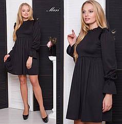 Трикотажное короткое платье тв-02001-2