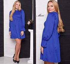 Трикотажное короткое платье тв-02001-3