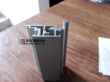 Профиль дверной коробки, алюминий. Комплект 2100х800мм