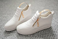 Женские кроссовки Coco Paris White белые 36 - 41