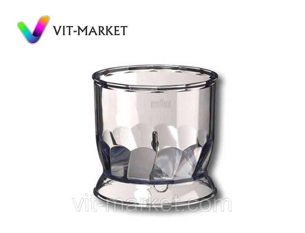 Оригинал. Чаша 350 ml измельчителя НС5000/6000 Braun код 67050145