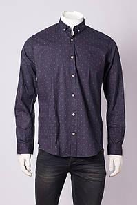 Рубашка с длинным рукавом мужская Zen-Zen ZEN-ZEN 79007 RENK 1 LACIVERT