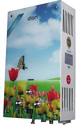Газовая колонка Dion JSD 10 дисплей тюльпаны/ 10 л/мин/ 550x340x164