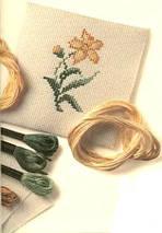 """Набор для вышивания   """"Золотые карпы"""", фото 2"""
