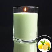 Лимонные ароматизированные насыпные свечи 1 кг + 1 м фитиля