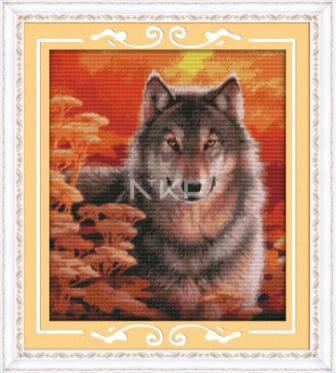 """Набор для вышивания   """"Волк"""", фото 2"""