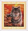 """Набор для вышивания   """"Волк"""""""