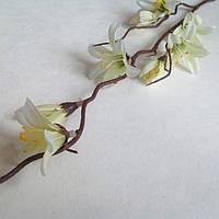 Веточка весеннего первоцвета 50 см_СЛИВОЧНЫЙ , фото 1