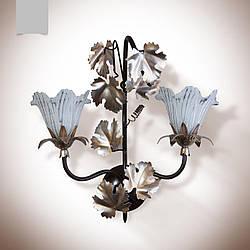 Бра в стиле флористика 2 ламповое  8206-1