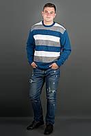 Мужской свитер Андерс (бирюза)