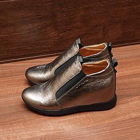 Женские демисезонные туфли на танкетке модель 8147.3  