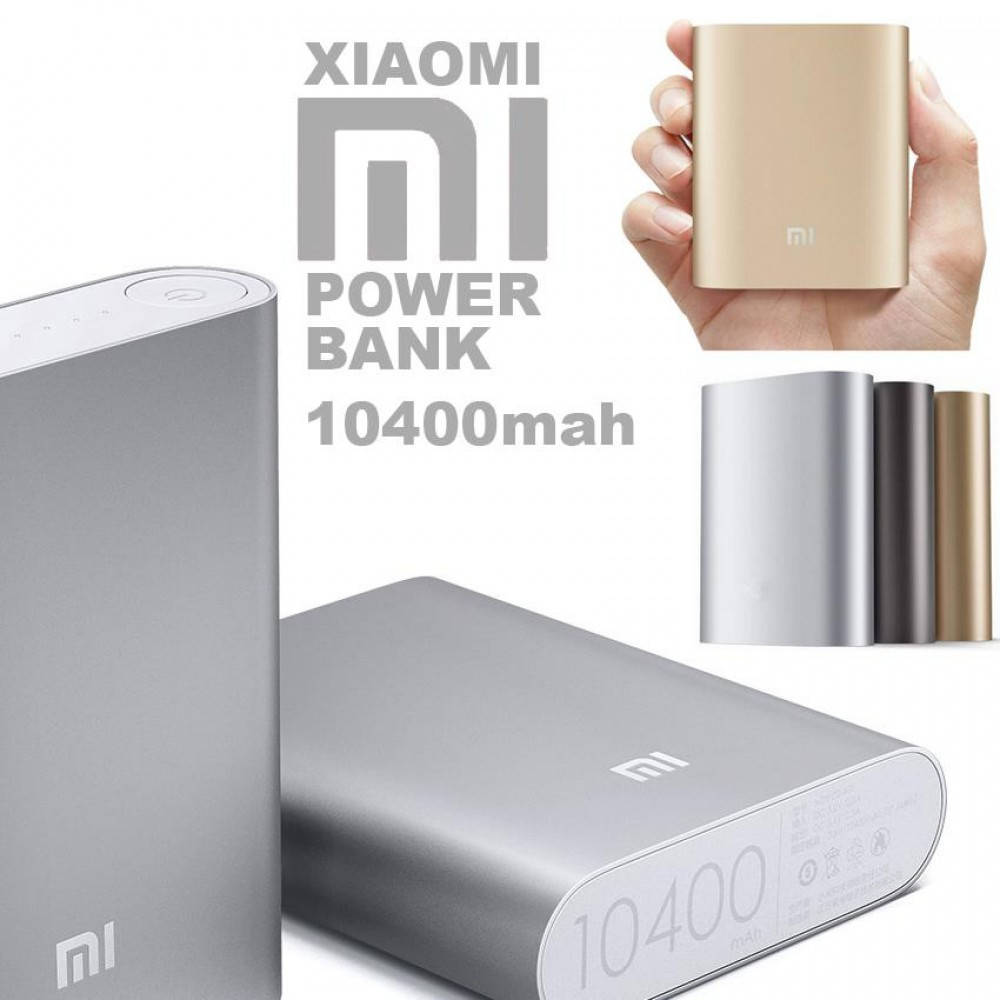 Внешний аккумулятор Xiaomi 10400 Mah power bank
