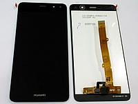 Оригинальный дисплей (модуль) + тачскрин (сенсор) Huawei Y5 2017 | Y5 III | Y5 3 | Y6 2017 | Nova Young черный