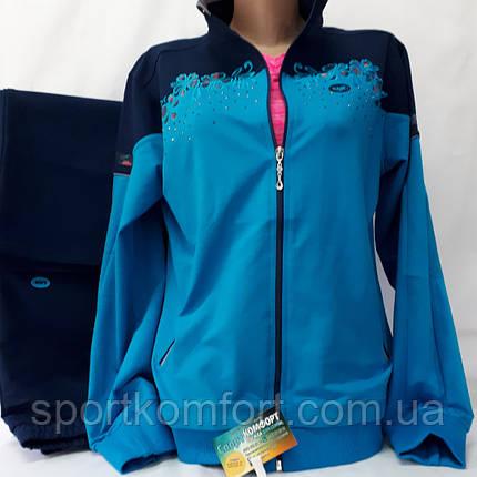 Женский спортивный трикотажный костюм, Турция, размеры 48, 50, 52, 54, 56., фото 2