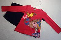 Костюм — Трикотаж 3-6 лет. Спортивный костюмчик девочка с бабочками