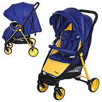 Прогулочная коляска EL Camino Prego M 3435-4 Blue Yellow