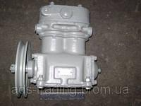 Компрессор 2-цилиндровый МАЗ, К-701, Т-150, КрАЗ (со шкивом) (пр-во БЗА)