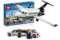 "Конструктор Lepin 02044 (аналог Lego City 60102) ""VIP сервис в аэропорту"", 393 дет"