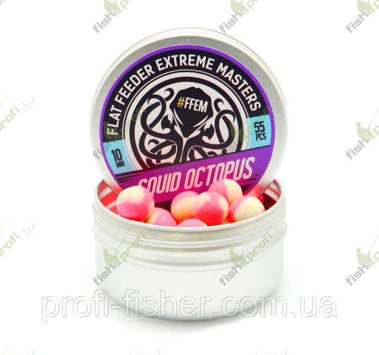 Бойлы и поп-апы FFEM Baits - FFEM Pop-Up Squid Octopus 12mm