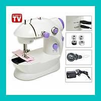 Мини швейная машинка 4 в 1 Mini Sewing Machine!Опт