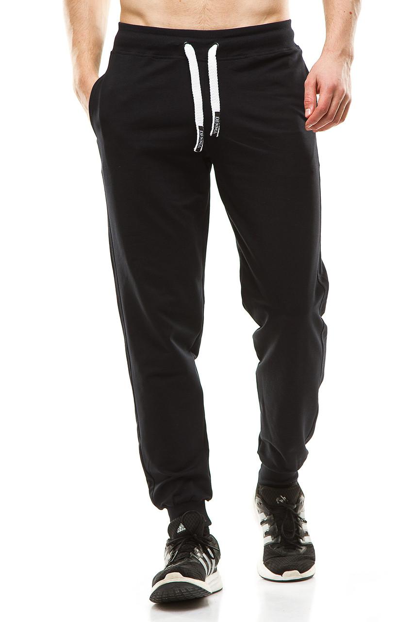 Мужские спортивные штаны 403 темно-синие