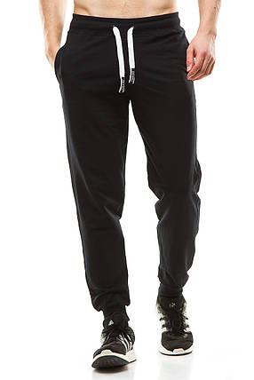 Мужские спортивные штаны 403 темно-синие, фото 2
