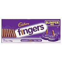 Шоколадное печенье Giant Cadbury Fingers Bumper Pack, 684 г