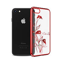 Чехол Kingxbar Calla Lily Iphone 7Plus/8Plus (Red), фото 1