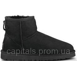 """Мужские сапоги UGG Classic Mini """"Black"""""""