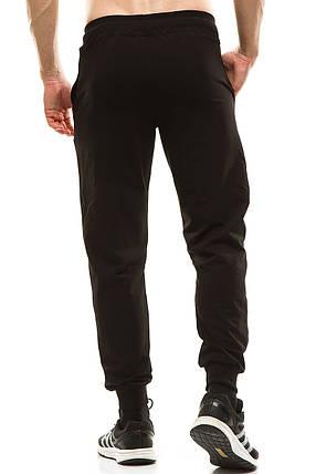 Мужские спортивные штаны 403 черные, фото 2