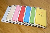 Оригинальный силиконовый чехол для iPhone 6 / 6s (4.7 Дюйма) Разные цвета