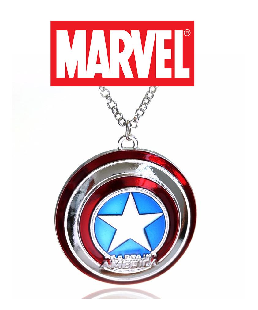 Кулон щит капитана Америка Мстители The Avengers Marvel Марвел
