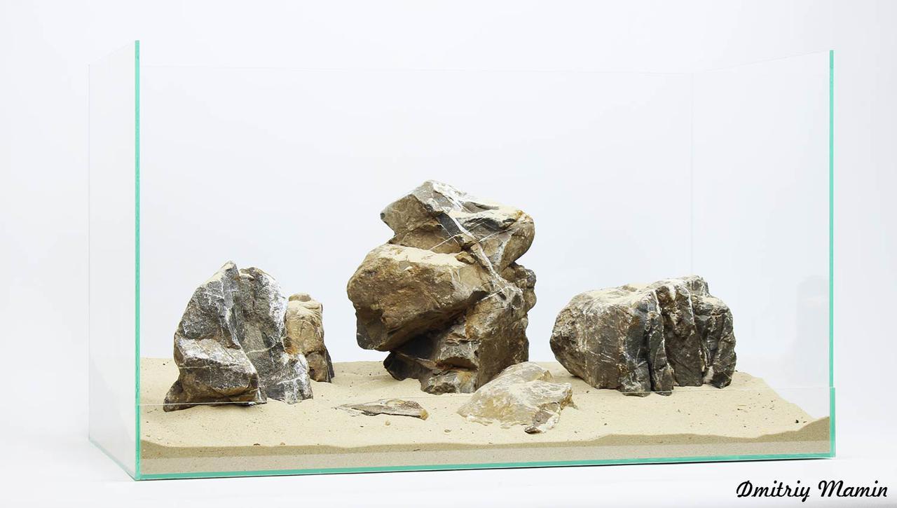 Композиция из Карпатского камня K48