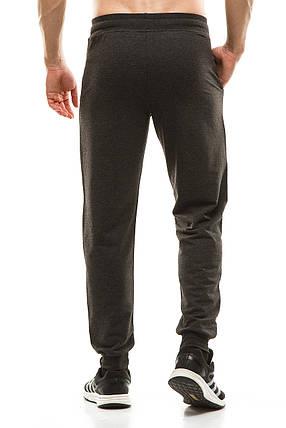 Мужские спортивные штаны 403/1 темно-серый, фото 2
