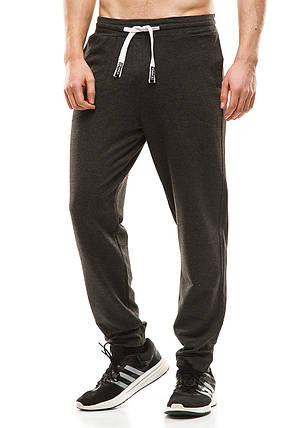 Мужские спортивные штаны 404 темно-серые, фото 2