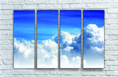 "Модульна картина ""Безкрає небо"""