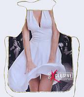 """Жіночий фартух з приколом """"Мерлін Монро""""."""