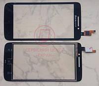 Lenovo S650 сенсорний екран, тачскрін чорний