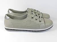 Кеды серого цвета Allshoes 17076-18 GREY 36 23,5 см, фото 1