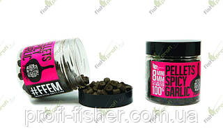 FFEM Hookbaits Pellets Spicy Garlic Halibut 14 mm