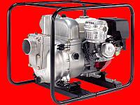 Мотопомпа Koshin KTH-100X для откачки грязной воды
