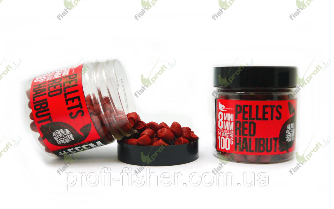 FFEM Hookbaits Pellets Red Halibut 8 mm